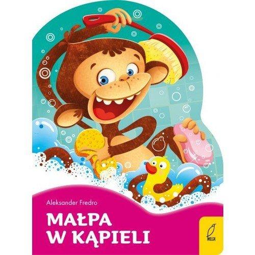 Małpa w kąpieli. Poeci dla dzieci. - okładka książki