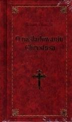 O naśladowaniu Chrystusa (bordowa) - okładka książki