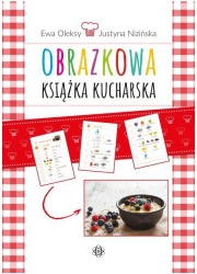 Obrazkowa książka kucharska - okładka książki