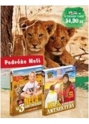 Pakiet 6: Nela na 3 kontynentach/Nela - okładka książki