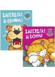 Pakiet: Ruchome obrazki 5 Zwierzaki - okładka książki