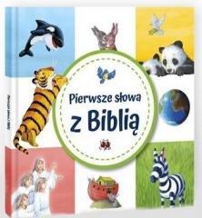 Pierwsze słowa z Biblią - okładka książki