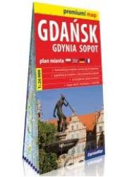 Premium! map Gdańsk, Gdynia, Sopot - okładka książki