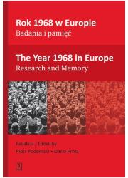 Rok 1968 w Europie. Badania i pamięć - okładka książki