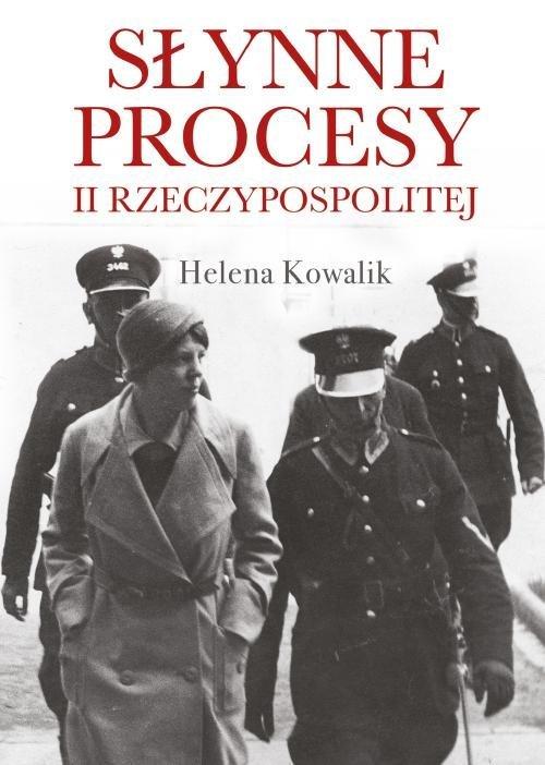Słynne procesy II Rzeczypospolitej - okładka książki