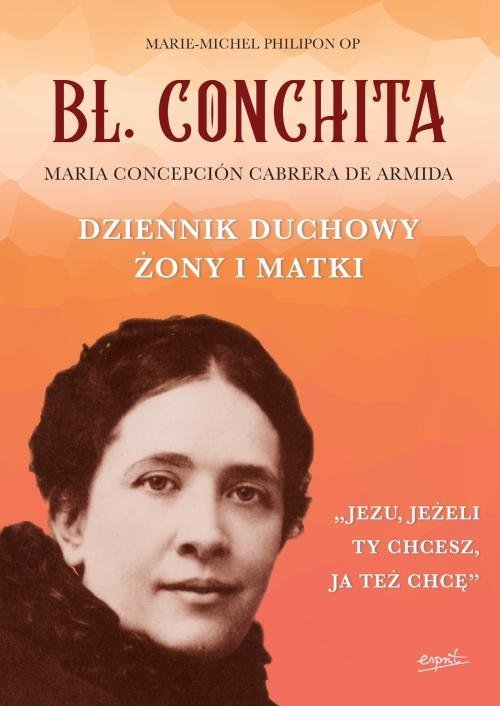 Bł. Conchita. Dziennik duchowy - okładka książki