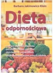 Dieta odpornościowa - okładka książki