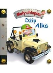 Mały chłopiec. Dżip Alka - okładka książki
