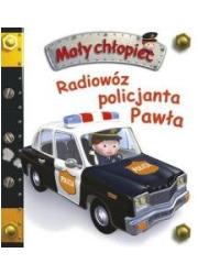 Mały chłopiec. Radiowóz policjanta - okładka książki