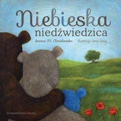 Niebieska niedźwiedzica - okładka książki