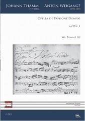 Opella de Passione Domini cz.1 - okładka książki