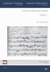 Opella de Passione Domini cz.2 - okładka książki