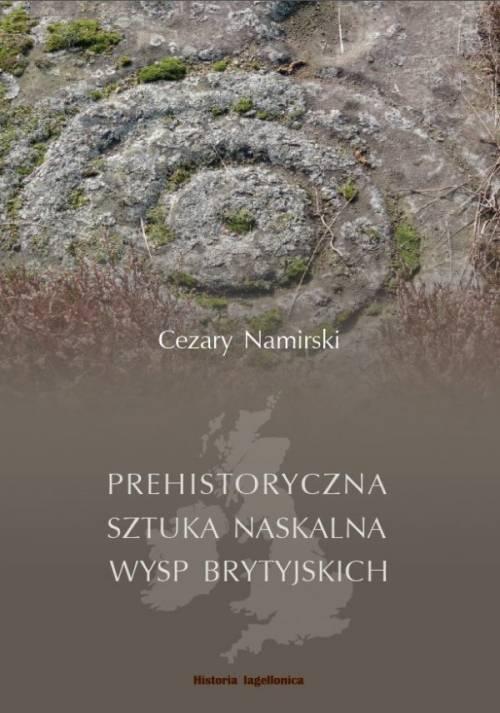 Prehistoryczna sztuka naskalna - okładka książki