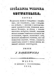 Spiżarnia wiejska obywatelska - okładka książki