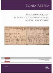 Tabulatura Organi - okładka książki