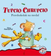 Tupcio Chrupcio. Przedszkolak na - okładka książki