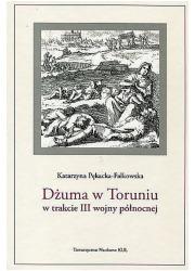 Dżuma w Toruniu w trakcie III wojny - okładka książki