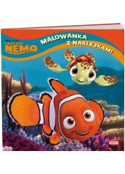 Gdzie jest Nemo Malowanka z naklejkami. - okładka książki