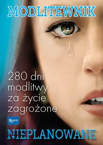 Modlitewnik Nieplanowane. 280 dni - okładka książki