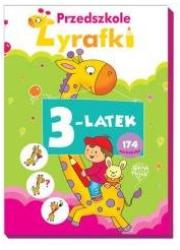 Przedszkole Żyrafki. 3-latek - okładka książki