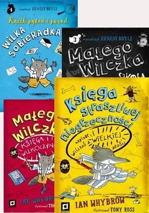 Przygody Małego Wilczka. PAKIET - okładka książki