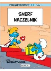 Przygody Smerfów. Smerf Naczelnik - okładka książki