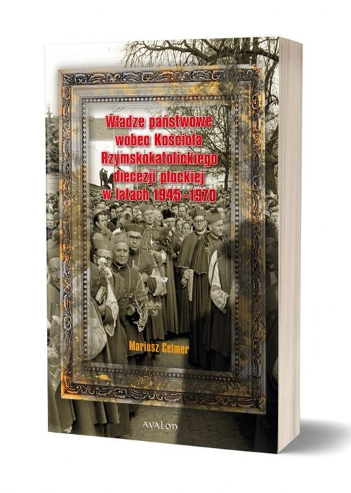Władze państwowe wobec Kościoła - okładka książki