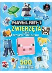 Minecraft. Zwierzęta. Album przygód - okładka książki