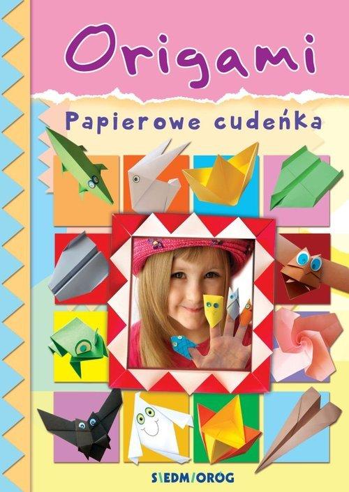 Origami Papierowe cudeńka - okładka książki