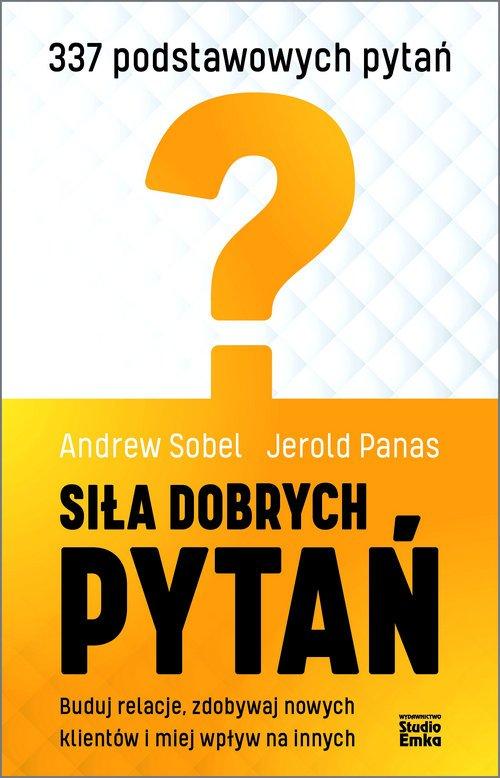 Siła dobrych pytań - okładka książki