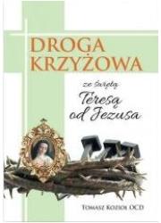 Droga krzyżowa ze świętą Teresą - okładka książki