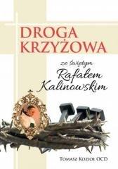 Droga Krzyżowa ze świętym Rafałem - okładka książki