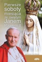 Pierwsze soboty miesiąca ze św. - okładka książki