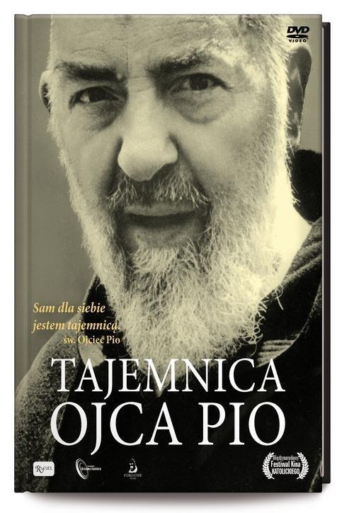 Tajemnica ojca Pio (książeczka - okładka filmu
