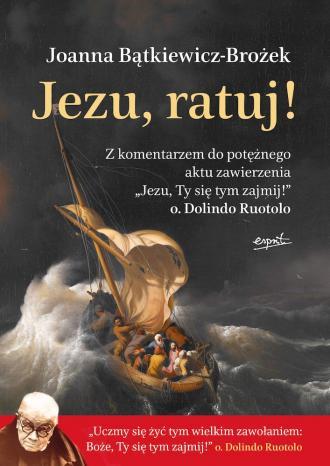 Jezu, ratuj! - okładka książki