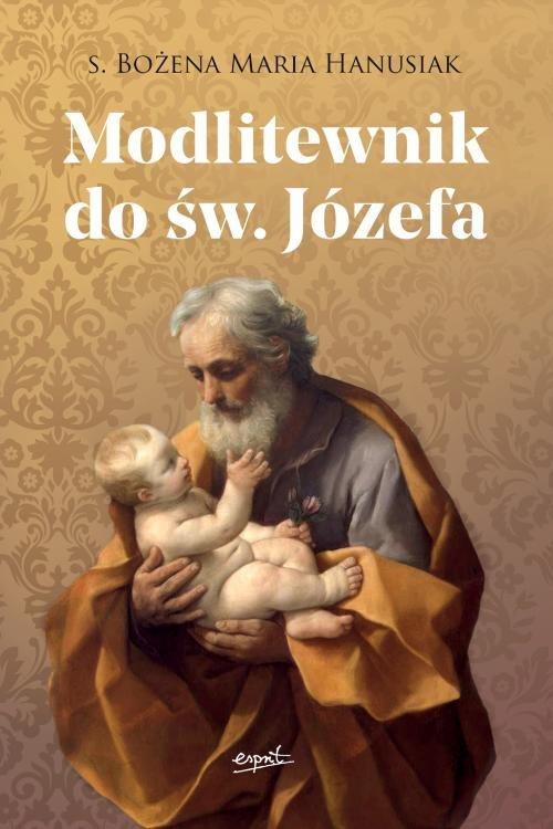 Modlitewnik do św. Józefa - okładka książki