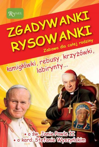 Zgadywanki Rysowanki św. Jan Paweł - okładka książki