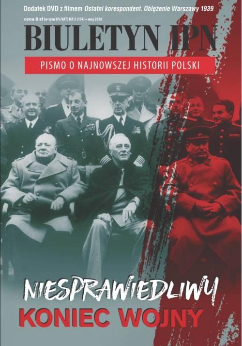 Biuletyn IPN nr 174 (5) / 2020 - okładka książki