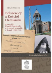 Bolszewicy a Kościół Ormiański. - okładka książki
