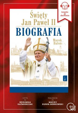 Święty Jan Paweł II. Biografia - okładka płyty