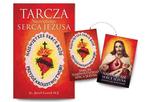 Tarcza Najświętszego Serca Jezusa - okładka książki