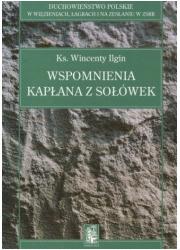 Wspomnienia kapłana z Sołówek. - okładka książki
