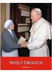 Święci ubogich. Album papieski - okładka książki