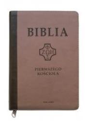 Biblia pierwszego Kościoła - z - okładka książki