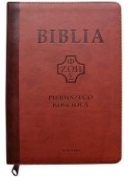 Biblia pierwszego Kościoła z paginatrami - okładka książki