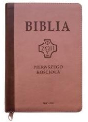 Biblia pierwszego Kościoła z paginatorami - okładka książki