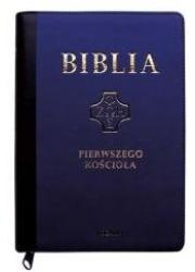 Biblia pierwszego Kościoła - złocenia - okładka książki