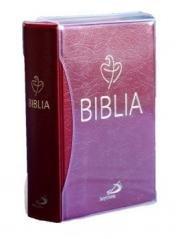 Biblia Tabor - bordowa PCV - okładka książki
