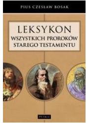 Leksykon wszystkich Proroków Starego - okładka książki
