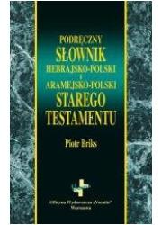 Podręczny słownik hebrajsko-polski - okładka książki